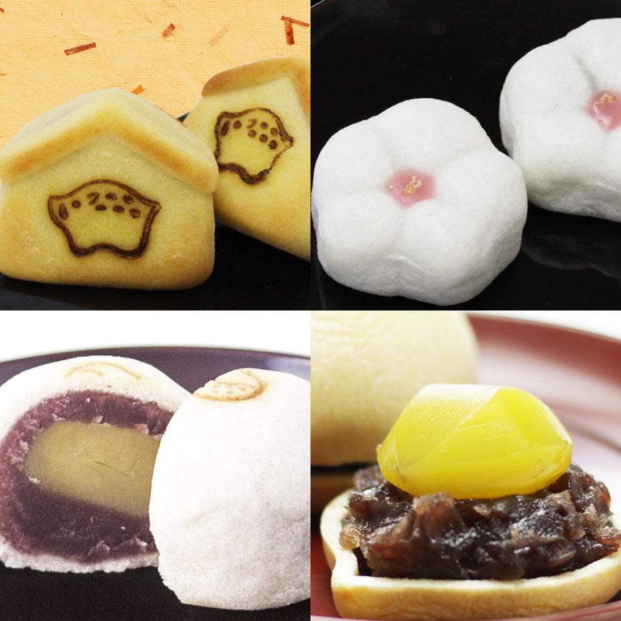 干支菓子2個・匂い梅2個・天鼓2個・天楽2個セット